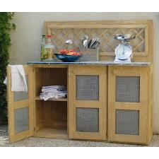 meuble cuisine exterieure bois meuble cuisine d été en bois traité achat vente cuisine