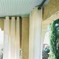 Sunbrella Curtains With Grommets by Outdoor Curtain Panels Gordyn