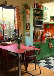 Australian Anti Minimalist 1970s House That Will Bring You To Colorgasm Retro KitchensColorful