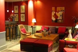 warm paint colors for living room living room with orange paint