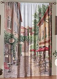Amazon Outdoor Curtain Panels by Amazon Com Outdoor Scenic View Curtains Desert Garden