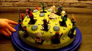 ninjago torte 2 in einem geschenk und torte idee