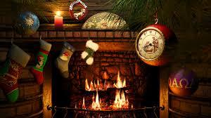 Fireside Christmas 3D Screensaver & Live Fireplace Wallpaper HD