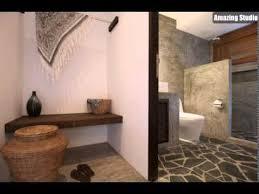 steinboden grau rustikale badezimmer