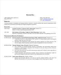 Resume Format For 1 Year Experienced Software Developer 48 Awesome Engineer Intern Java