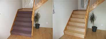 rénovation escalier renover escalier bois revêtement et recouvrement