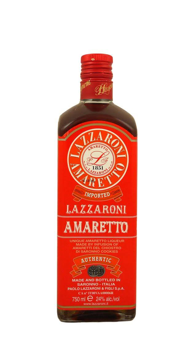 Lazzaroni Amaretto - 750 ml bottle