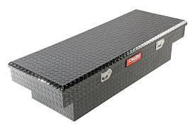 100 Black Truck Box Dee Zee DZ8163B Red Label Single Lid Crossover Tool Walmartcom