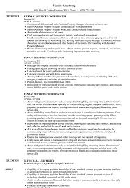 Download Tenant Services Coordinator Resume Sample As Image File