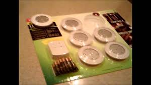 Costco LED Puck Lights Unboxing Review Installation Guide 2012 HD