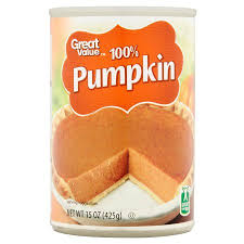 Pumpkin Puree Vs Pumpkin Pie Filling by Great Value 100 Pumpkin 15 Oz Walmart Com