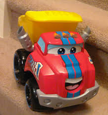 Race Along Chuck | Non-Mom's Blog Tonka Playskool Chuck Friends Dump Fire Emergency Trucks Garbage Talkin My Talking Dump Truck Says Over 40 Phrases Moves Amazoncom Interactive Rumblin Toys Games And Friends Race Along Chuck Gamesplus Interframe Media Die Cast Truck For Use With Twist Trax Hasbro The 1999 Toy And Get To Work Book 50 Similar Items Btsb Playskool Race Along Power Play Yard Chuck Dump Babies