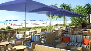 Often Times Outdoor Restaurants Have Their Umbrellas Positioned In A Way That The Sun Can Get Through To Table By Using Restaurant Umbrella Youll