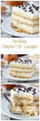 Bake Pumpkin For Pies by No Bake Pumpkin Pie Lasagna Beyond Frosting