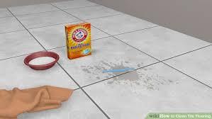 3 ways to clean tile flooring wikihow best way clean ceramic tile