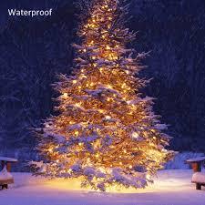Christmas Tree Amazon Uk by Fairy Lights Remote U0026 Timer Battery Operated Waterproof 5m 40