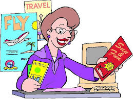 Travel Agent Clipart 1