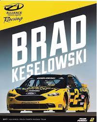 2017 BRAD KESELOWSKI ALLIANCE TRUCK PARTS NASCAR CUP PO