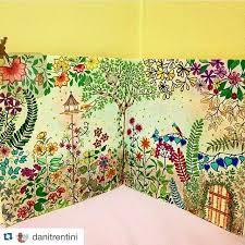 Johanna Basford Coloring Books Colouring Secret Gardens Bugs Painting Garden Tips