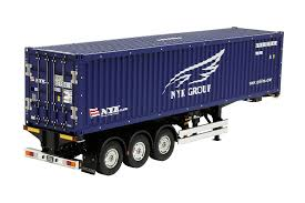 100 Rc Semi Trucks And Trailers For Sale Amazoncom Tamiya Truck Scale 1 14 RC 40ft Container Trailer NYK