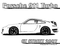 Real Race Car Coloring Pages
