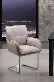 places of style esszimmerstuhl durham 2er set in modernem design sitz und rücken gepolstert