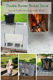 Double Burner Rocket Stove - How To Build One With Cinder Blocks ... Diy Guide Create Your Own Rocket Stove Survive Our Collapse Build Earthen Oven With Rocket Stove Heating Owl Works The Scribblings Of Mt Bass Rocket Science Wok Cooking The Stove Outdoors Pinterest Now With Free Shipping Across South Africa Includes Durable Carry Offgrid Cooking Mom A Prep Water Heater 2010 Video Filename To Heat Waterjpg Description Mass Heater Google Search Mass Heaters Broadminded Survival Concept 1 How Brick For Fire Roasting Tomatoes