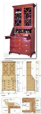 endearing secretary desk plans and secretary desk with hutch plans