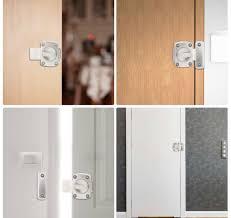 neu türschloss riegel für badezimmertür schranktür türen silber