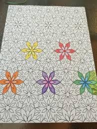 Flower Design Coloring Book