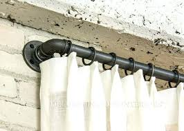 No Drill Window Curtain Rod by Amazon Curtains Blackout Lace Rod Pocket Balloon Shade Found At 9