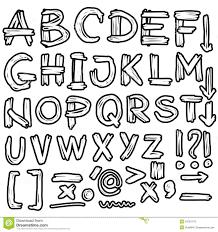 Graffiti 3D Letter Dina Alphabet Letters Style Different Letter