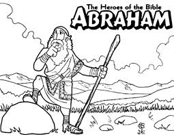 Abraham The Bible Heroes Coloring Page