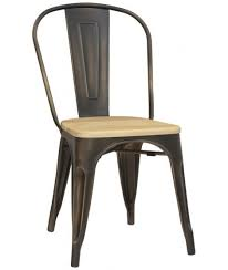 tucan lackiertes metall stuhl vintage industriedesign