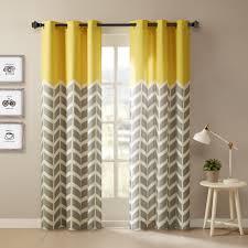 Kohls Kitchen Window Curtains by Design Elle Chevron Window Curtain Set