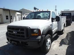 100 Ford Service Truck 2005 FORD F550 SERVICE TRUCK SN 1FDAF56P85EB86400 60L DIESEL
