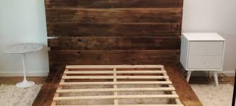 platform bed wood mr kate diy reclaimed wood platform bed img