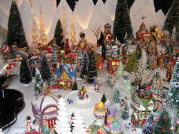 Mr Jingles Christmas Trees San Diego by Christmas Village Fun Blog Kim Krum U0027s North Pole Village Display