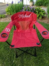 Personalized Embroidered Camp Chair