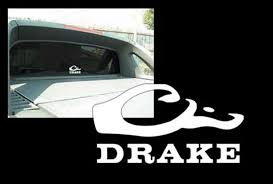 Amazon.com: Drake Waterfowl White Decal, 10