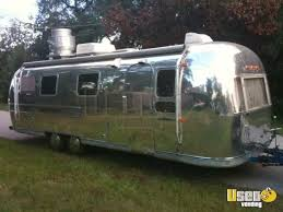 29 Vintage Airstream Ambassador Food Concession Trailer