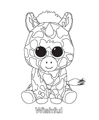Beanie Boo Coloring Pages Beanie Boo Pinterest Coloriage