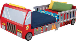 Amazon.com : Carter's 4 Piece Toddler Bed Set, Fire Truck ...