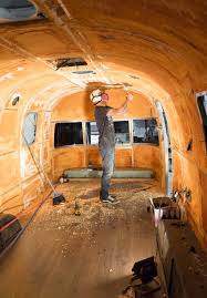 100 Airstream Trailer Restoration Insulating An