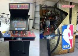 4 Player Arcade Cabinet Dimensions by Cost To Ship A Nba Jam 4 Player Arcade Cabinet Arcade 1993 To