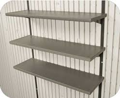 lifetime 15x8 plastic storage shed kit w double doors 60079