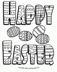 Happy Easter Coloring Pages Hd Images