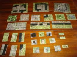 dungeons and dragons tiles master set newbiedm review sinister woods dungeon tiles www newbie dm
