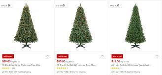 Target Artificial Christmas Trees Unlit by Target 50 Off Wondershop Christmas Trees