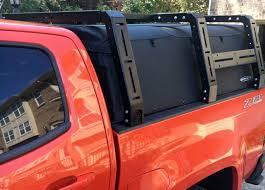 100 Canvas Truck Cap Chevy Colorado Cage Bed Rack